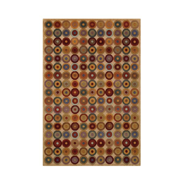 Noble Beige Area Rug by Noble House