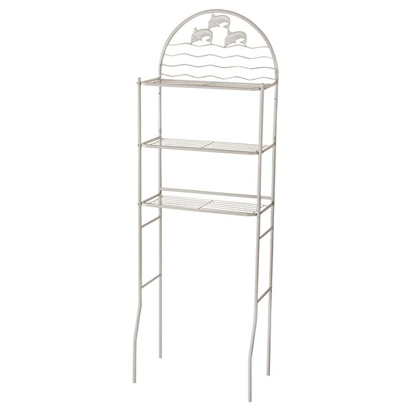 Napolitano 14.5 W x 68.1 H Over the Toilet Storage by Beachcrest Home