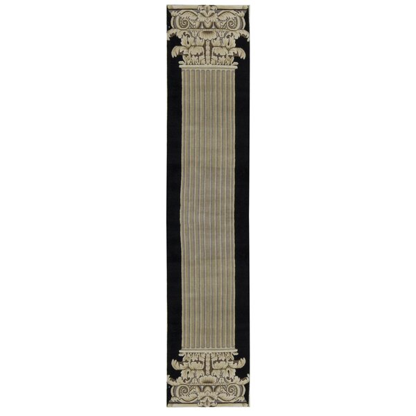 Hand Knotted Wool Beige Rug