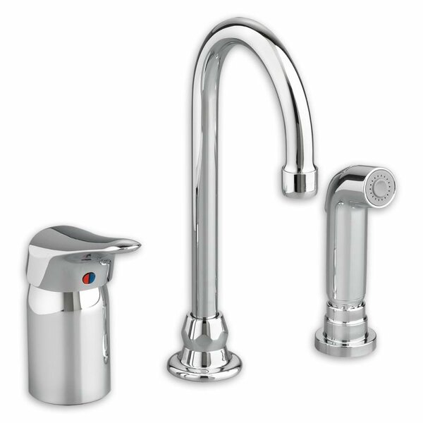 Monterrey Single Handle Kitchen Faucet with Side Spray by American Standard