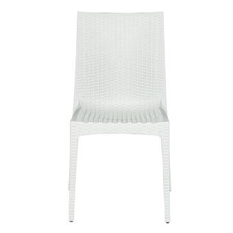 Oakland Living Stacking Patio Dining Chair Reviews Wayfair
