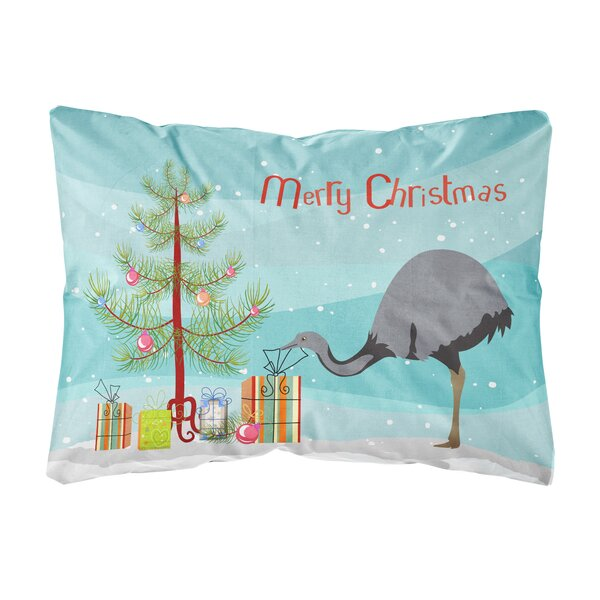 Onondaga Rhea Christmas Indoor/Outdoor Throw Pillow by The Holiday Aisle