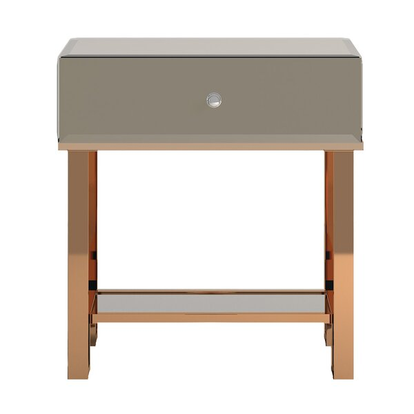 Desidéria End Table by Willa Arlo Interiors