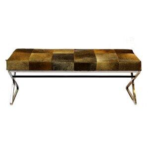 Felton Upholstered Bench by World Menagerie
