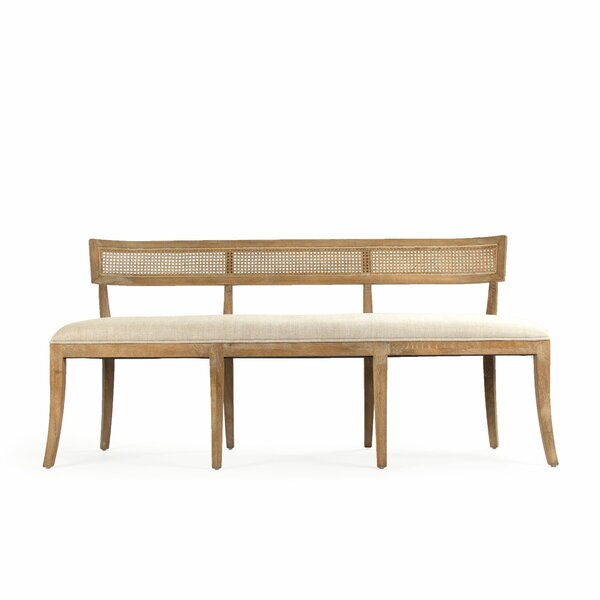 Embla Cane Back Bench by One Allium Way