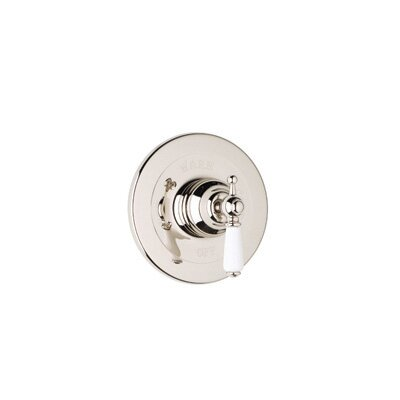 Pressure Balanced Concealed Bath Edwardian Volume Control Faucet Shower Faucet Trim Only by Rohl