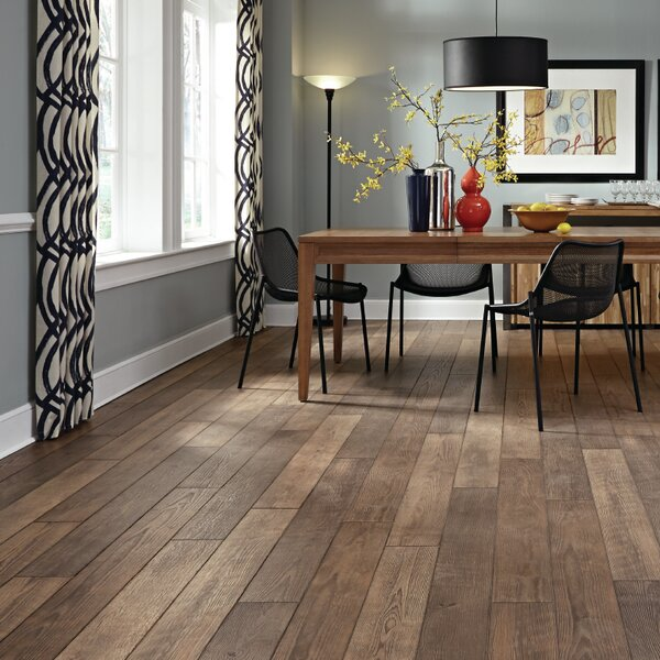 Restoration 6 x 51 x 12mm Treeline Oak Laminate Flooring in Fall by Mannington