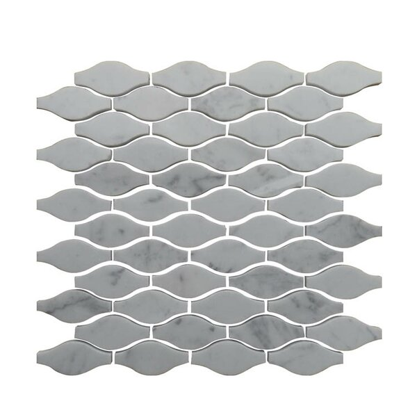 Natural Stone Mosaic Tile in Carrara by QDI Surfaces