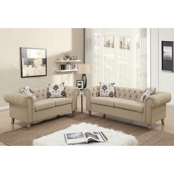 Garett 2 Piece Living Room Set by Ophelia & Co.