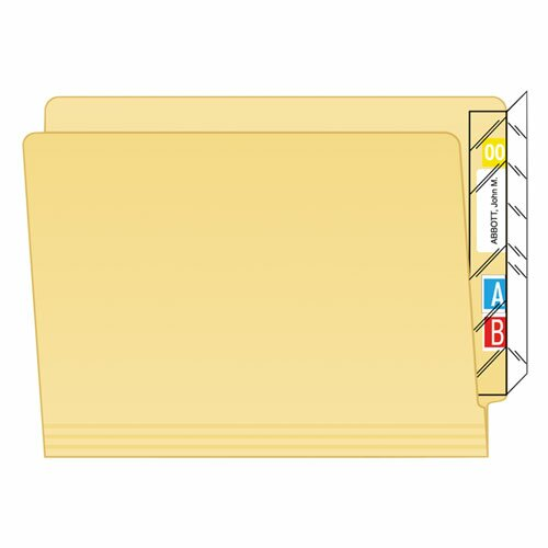 Protector, End Tab Folder, 100/Pack by Tabbies