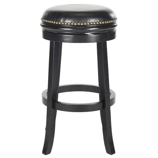 Biagio 30 Swivel Bar Stool by SafaviehBiagio 30 Swivel Bar Stool by Safavieh