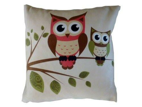 Horne Owls Throw Pillow by Zoomie Kids