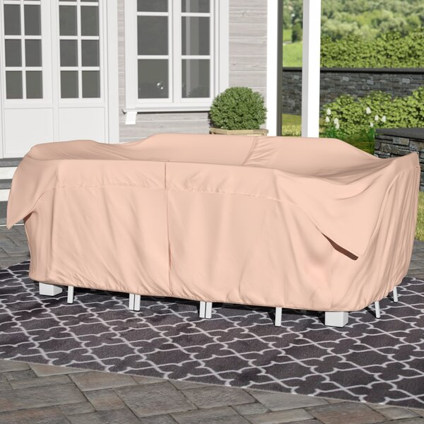 Water Resistant Modular Patio Dining Set Covers by Andover Mills