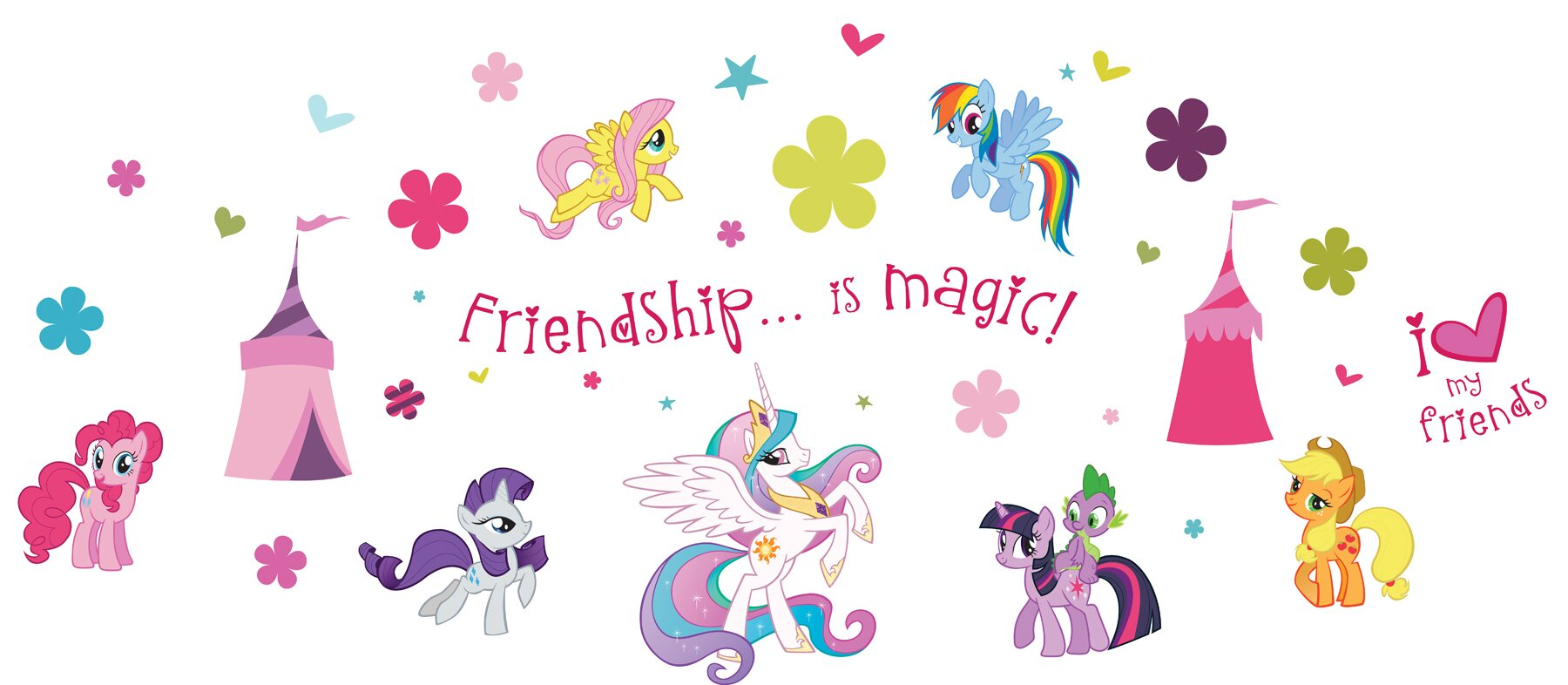 Incroyable My Little Pony Wall Decal