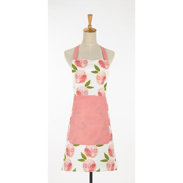 Grapefruit Apron by Darby Home Co