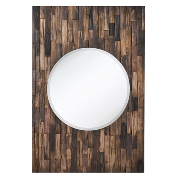 Mixed Media Bevel Wall Mirror by Majestic Mirror