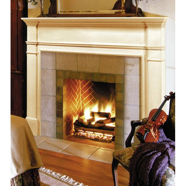 The Windsor Fireplace Mantel Surround by Pearl Mantels