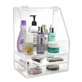 2 Piece Premium Cosmetic Organizer Set