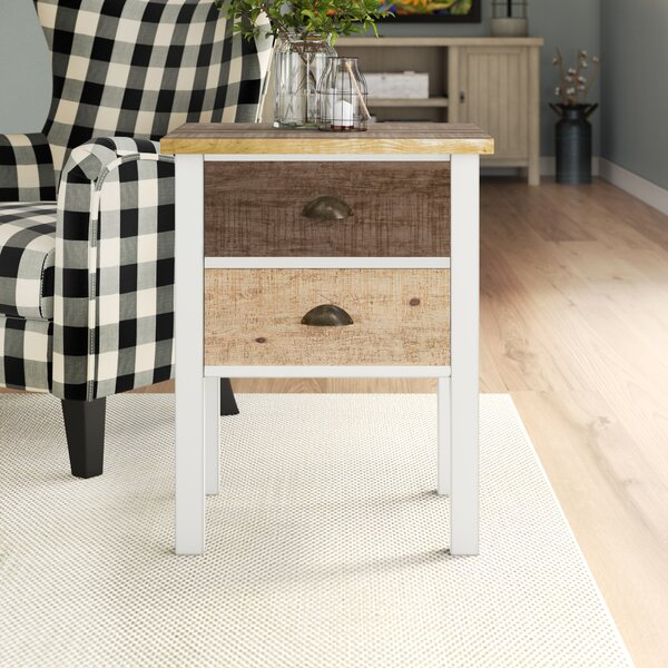 Amandine End Table by Laurel Foundry Modern Farmhouse