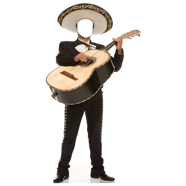 Mariachi Guitarron Life-Size Cardboard Stand-In by Advanced Graphics