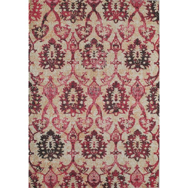 Beverly Ivory Fuchsia Area Rug by Rugs America