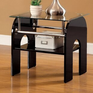 Swooping End Table by Hokku Designs