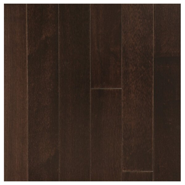 3-1/2 Solid Mango Hardwood Flooring in Black by Easoon USA