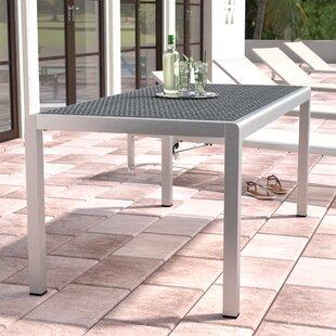Aluminum Outdoor Dining Table Wayfair - Aluminum outdoor dining table and chairs