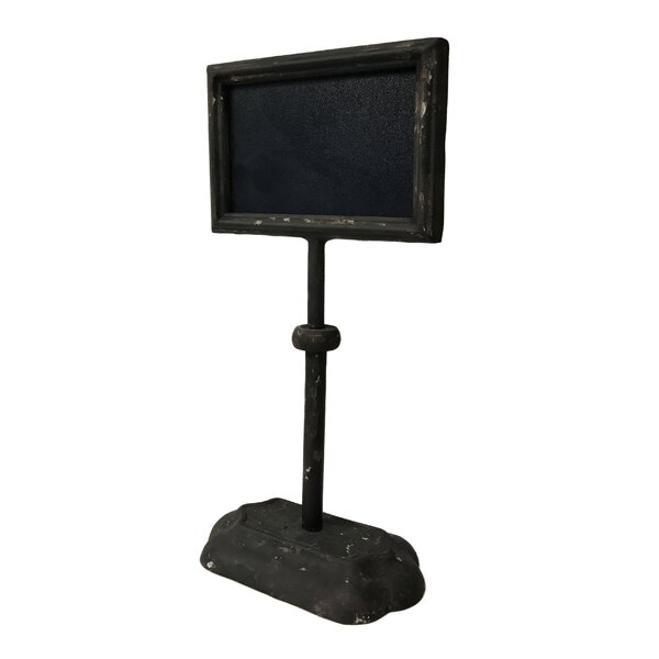 Free Standing Chalkboard by Wilco Home
