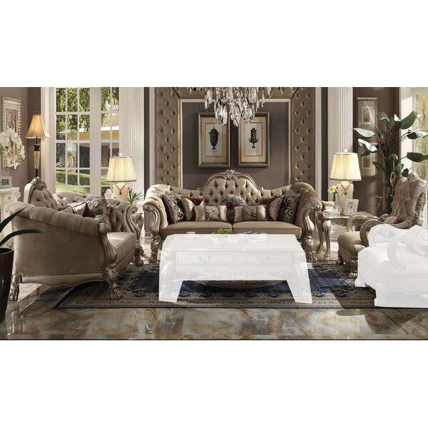 Outdoor Furniture Dicken 3 Piece Living Room Set