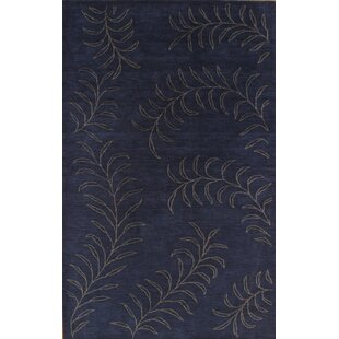 Price Check Hand-Knotted Black Area Rug By Pasargad NY