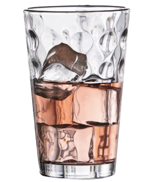 Provence 17 Oz. Glass Highball Glass (Set of 4) by Design Guild