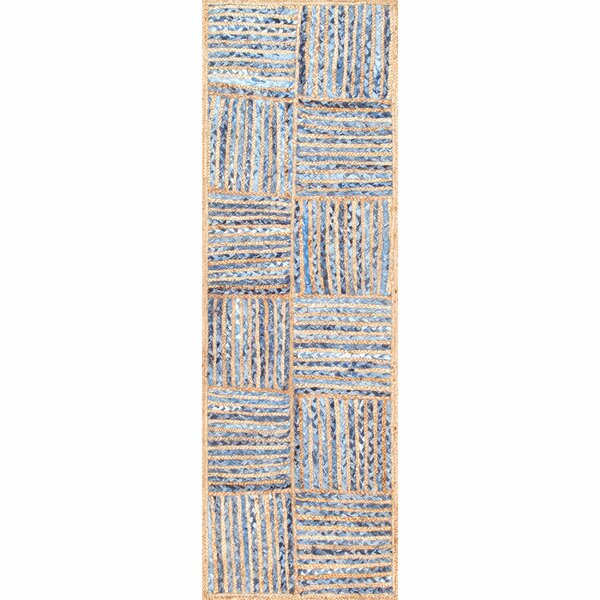 North AMonmouth Blue Area Rug by Breakwater Bay