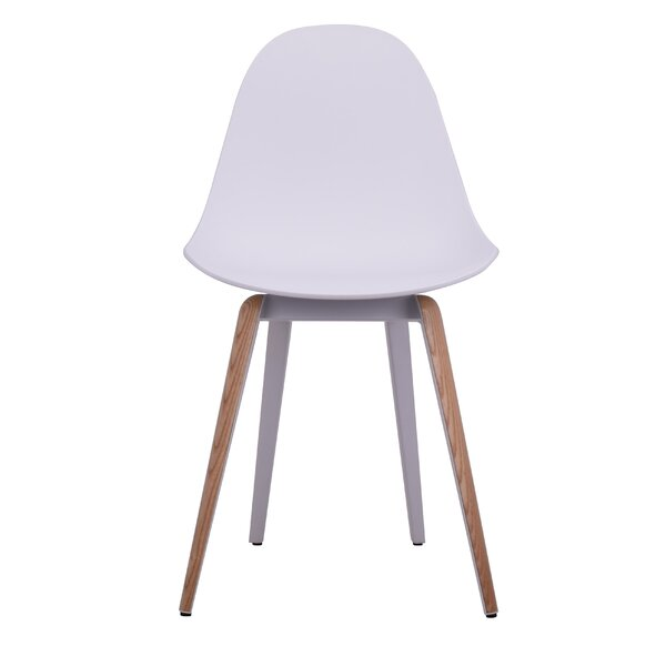 Teressa Slice Natural Trims Dining Chair by Ivy Bronx