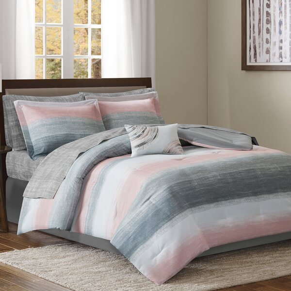 Saben Comforter Set by Madison Park Essentials