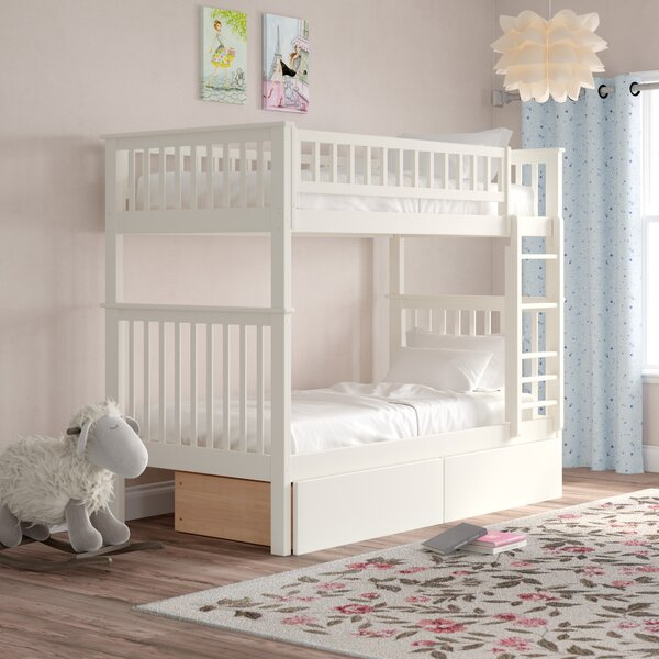 Shyann Twin Bunk Bed with Storage by Viv + Rae