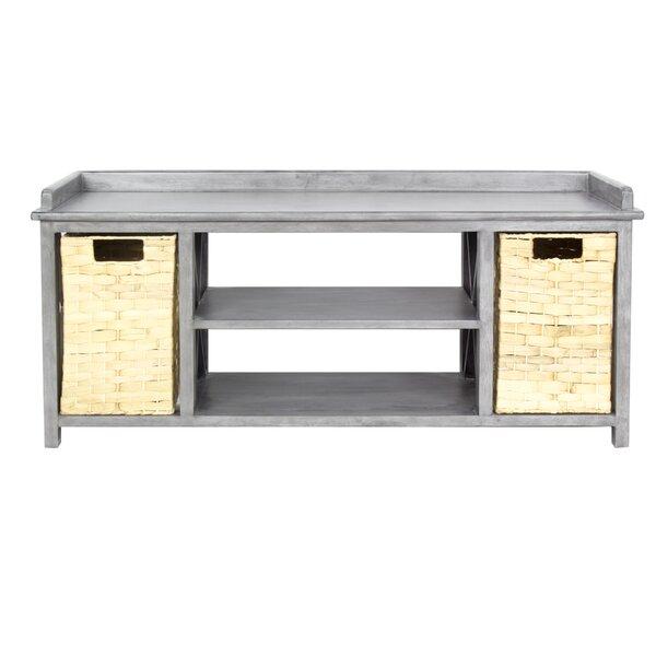 Blanken Storage Bench by Rosecliff Heights