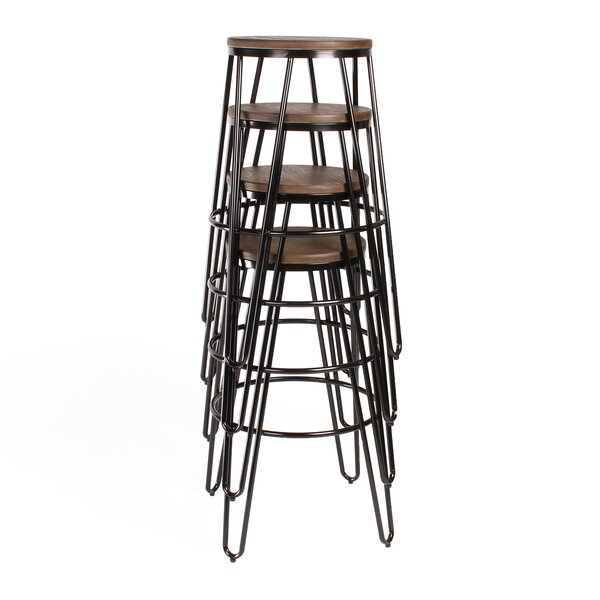 Scuderi 30 Bar Stool (Set of 4) by Brayden Studio
