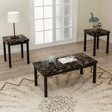 Oceanview 3 Piece Coffee Table Set by Red Barrel Studio®