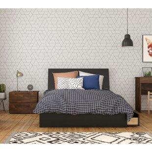 Locust Grove Platform 3 Piece Bedroom Set ByEbern Designs