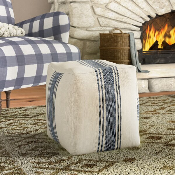 Chacra Canvas Pouf Ottoman By Laurel Foundry Modern Farmhouse Looking for