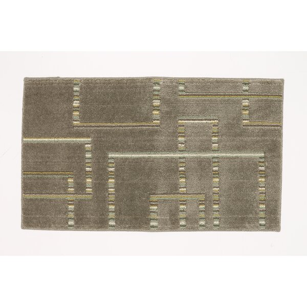 Singleton Musturd Area Rug by Ebern Designs