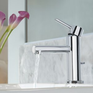 Align Single Hole Bathroom Faucet with Drain Assembly