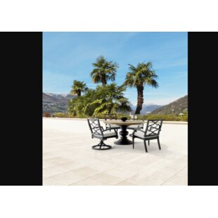 Euston Outdoor 5 Piece Round Dining Table Set By Canora Grey