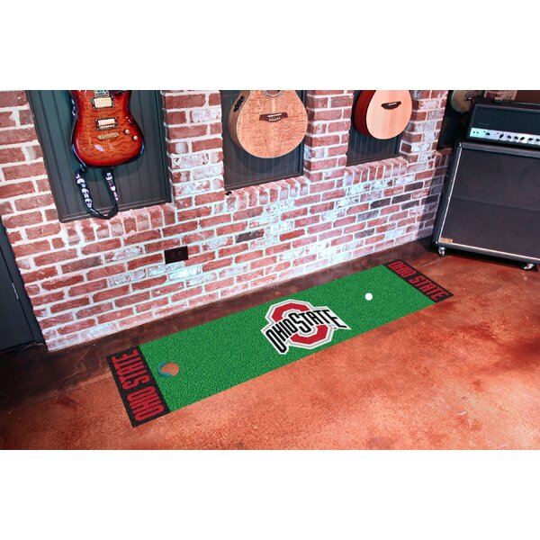 NCAA Ohio State University Putting Green Doormat by FANMATS