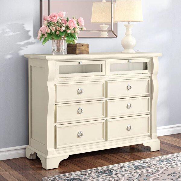 Home Décor Rosehill 6 Drawer Double Dresser