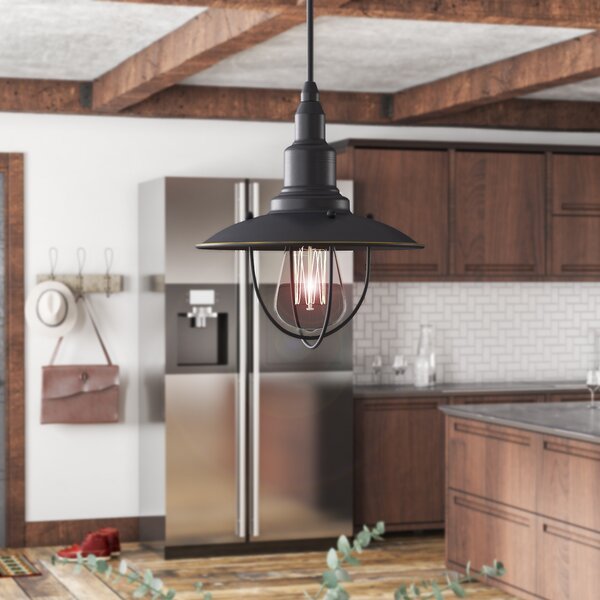 Ariana 1-Light Cone Pendant by Trent Austin Design