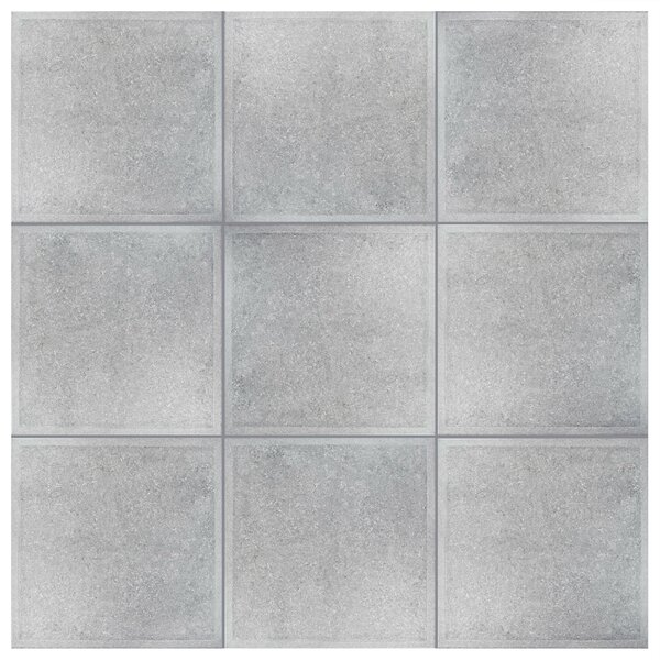 Stellum 19.75 x 19.75 Ceramic Field Tile in Gray by EliteTile