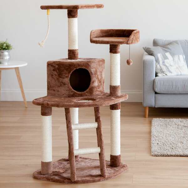48 Plush Cat Tree by IRIS USA, Inc.
