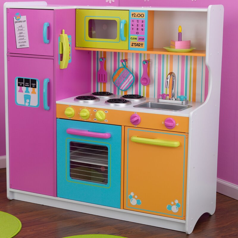 Kidkraft Deluxe Big Amp Bright Kitchen Play Set Amp Reviews